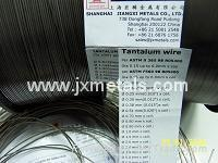 Wholesale Tantalum wire per ASTM B365 from china suppliers