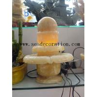 Wholesale Lantern Product Nameyellow onyx small fortune ball sculpture from china suppliers