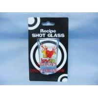Wholesale Glass Mug GM7094 SHOT GLASS WITH INSERT CARD from china suppliers