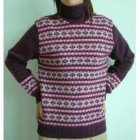 Wholesale WOMEN''S LONG SLEEVE EMBROIDERY PULLOVER from china suppliers