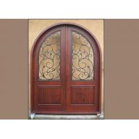 Wholesale Wood Iron Door WID-015 from china suppliers