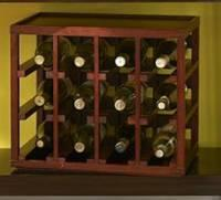 Wholesale Cube Stack 12 Bottle Wine Rack from china suppliers