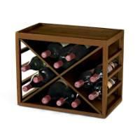 Wholesale Cube Stack 12 Bottle X Wine Rack from china suppliers