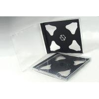 China JEWEL CD CASE 10.4MM DOUBLE BLACK JEWEL CD CASE WITH BLACK TRAY on sale