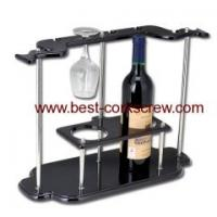 wine holder corkscrew and bottle rack XH4605