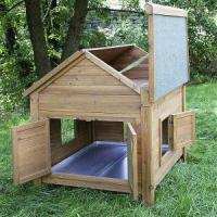 Wholesale Little weather-tight Farm Hutch for Chickens or Rabbits Item No. DFRH-113 from china suppliers
