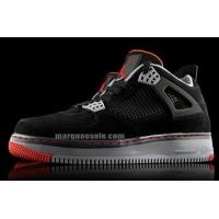 Wholesale Air Jordan Force Fusion 4 Black Varsity Red Cement Gray from china suppliers