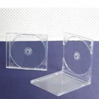 China 10.4mm single clear tray cd case on sale