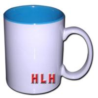 Wholesale 11oz Blank Coated Two-Tone Mug (Light blue) from china suppliers