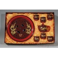 Wholesale Waves and Dragon Kung Fu Tea Sets QJ9059 from china suppliers
