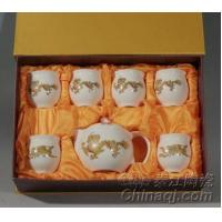 Wholesale Dragon and Phonix Kung Fu Tea Sets QJ9010 from china suppliers