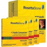 Wholesale Rosetta Stone Version 3: Portuguese Level 1, 2 & 3 Set with Audio Companion from china suppliers