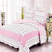 Wholesale Printed quilted bed cover---Little Butterfly from china suppliers