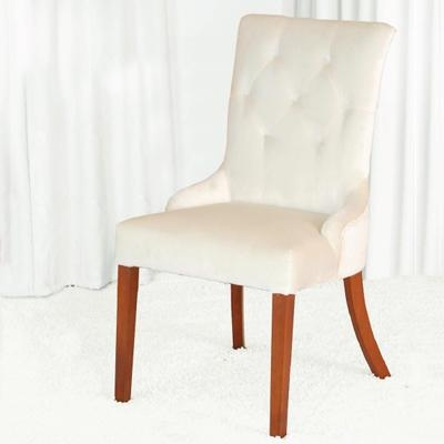 Linen upholstered dining chair yj1003 of item 35486977 for Upholstered linen dining chairs