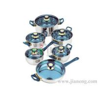 Wholesale 12 PCS STAINLESS STEEL COOKWARE from china suppliers