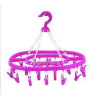 Wholesale 20pegs ellipse clothes hanger GY-302 from china suppliers