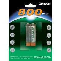 Wholesale 2pcs Ni-MH AAA 800mAh rechargeable batteries from china suppliers