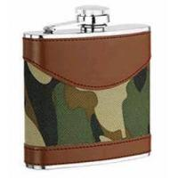 Wholesale Leather-wrapped Hip Flask from china suppliers