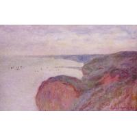 Wholesale Impressionist(3830) On_the_Cliff_near_Dieppe,_Overcast_Skies from china suppliers