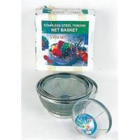 Wholesale Cookware 5pcs Stainless Steel Net Basket from china suppliers