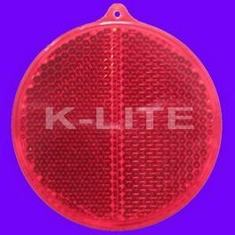 Quality reflective toy Product:Hard reflector-round for sale
