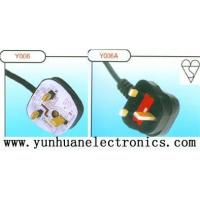 Wholesale UK BSI 1363 A power cords UK BS 1363 Plug (Y006, Y006A) from china suppliers
