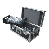 Wholesale Flight Case Case for 48 truss spigots2 trays included: one removable on top/the other is fixed on case,30mm x 30mm aluminum section,Heavy duty corners, heavy duty T Brackets,Medium butterfly latches,medium recessed handles,Top hinged cover. from china suppliers