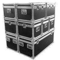 Wholesale Flight Case Pro Stackable Case9mm plywood construction with laminated plastic covering,30mm x 30mm aluminum section,Heavy duty stackable corners, heavry duty T Brackets,Medium butterfly latches, medium recessed handles,Top hinged cover. from china suppliers