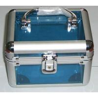Wholesale Cosmetic Case Cosmetic CaseHigh quality acrylic finish and construction withchrome plated plasticcorners Swivel handle top on the casesSecure easy closemetal lock with two keysCase size:175 x 140 x 140mm from china suppliers