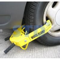 China Wheel clamp Motorcycle wheel clamps on sale