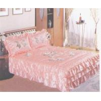 Wholesale Bedspread set Three Dimensional Embroidered Bedspread Set from china suppliers