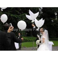 Wholesale Bio White Dove Balloons from china suppliers