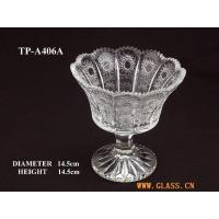 Wholesale Glasswork glass jar with a stem from china suppliers