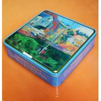 Wholesale Food Case, Metal Lunch Box, Square Beauty Tin Lunch Box from china suppliers