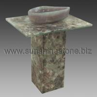 Wholesale queen onyx crazy paver pedestal sink 40 Home > Products > stone sink > pedestal sink > queen onyx crazy paver pedestal sink 40 from china suppliers