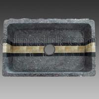 Wholesale > Products > farm sink > mosaic farm sink > blue pearl granite mosaic farm sink 01 from china suppliers