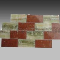 Wholesale green onyx and red alicante subway tile 11 Home > Products > stone mosaics > stone subway tile > green onyx and red alicante subway tile 11 from china suppliers