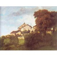 Wholesale Impressionist(3830) The Houses of the Chateau D-Ornans from china suppliers