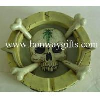 Wholesale skull poly ashtray from china suppliers