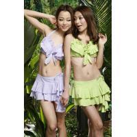 product style:Japanese and Korean girls with skirts bikini models