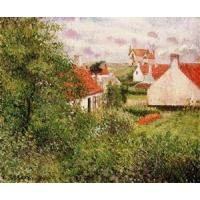 Impressionist(3830) Houses_at_Knocke,_Belgium_1