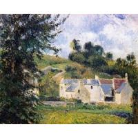 Wholesale Impressionist(3830) Houses_of_l-Hermitage,_Pontoise from china suppliers