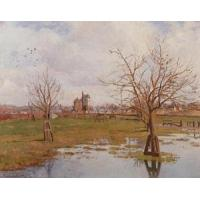 Wholesale Impressionist(3830) Landscape_with_Flooded_Fields from china suppliers