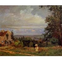 Wholesale Impressionist(3830) Landscape_near_Louveciennes_2 from china suppliers