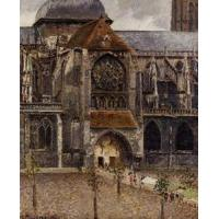 Wholesale Impressionist(3830) Portal_of_the_Church_Saint-Jacques,_Dieppe from china suppliers