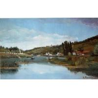 Wholesale Impressionist(3830) The_Banks_of_the_Marne_at_Chennevieres from china suppliers