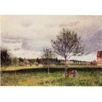 Wholesale Impressionist(3830) Eragny_Landscape,_Le_Pre from china suppliers