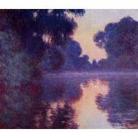 Wholesale Impressionist(3830) Arm_of_the_Seine_near_Giverny_at_Sunrise from china suppliers
