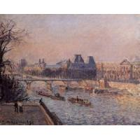 Wholesale Impressionist(3830) The_Louvre_3 from china suppliers