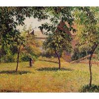 Wholesale Impressionist(3830) The_Barn,_Morning,_Eragny from china suppliers